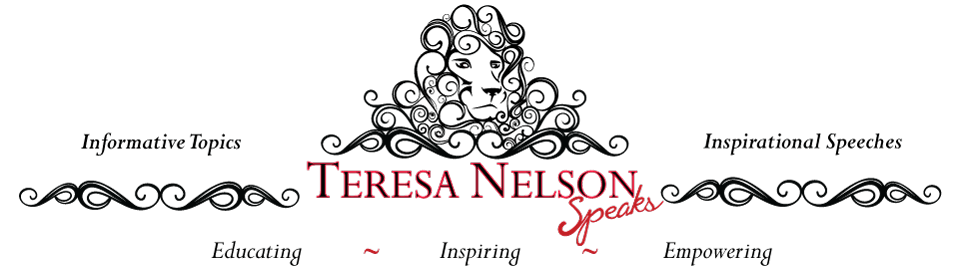 Inspirational Topics - Teresa Nelson Speaks